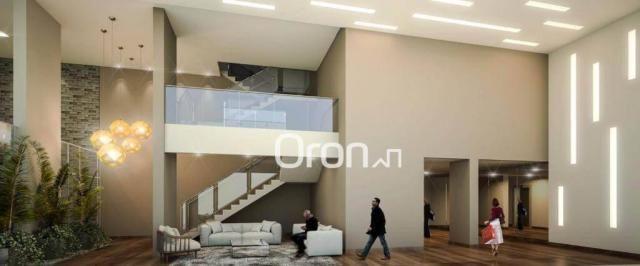 Apartamento com 3 dormitórios à venda, 80 m² por R$ 446.000,00 - Setor Bueno - Goiânia/GO - Foto 3