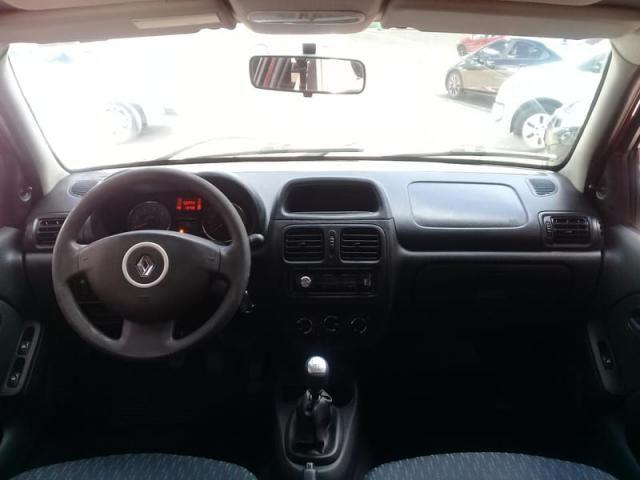 RENAULT CLIO EXPRESSION 1.0 16V HI-FLEX 4P - Foto 6