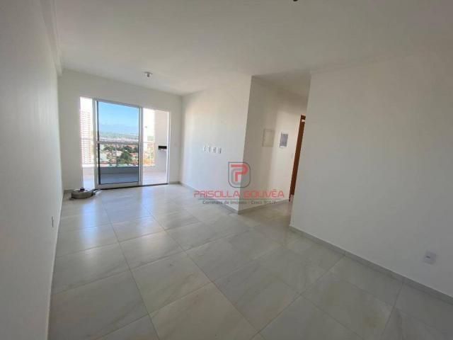 Apartamento novo, 2 quartos, andar alto, varanda gourmet e 2 vagas de garagem - Foto 11