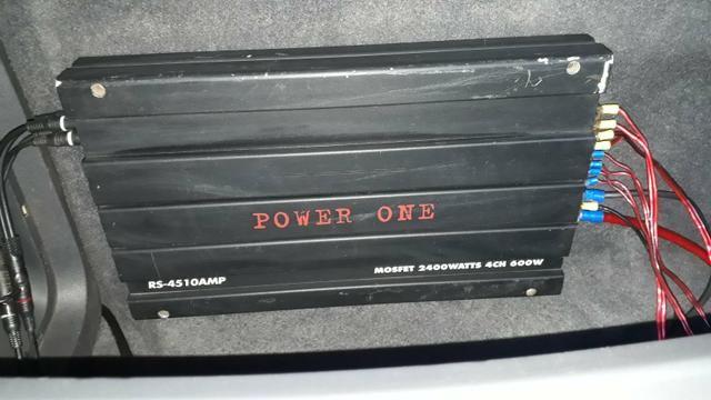 Vendo Power one conectores perfeitos