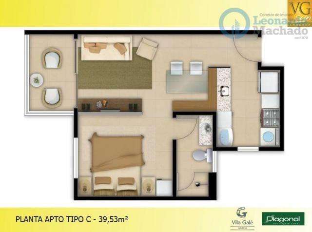 Apartamento residencial à venda, Cumbuco, Caucaia. - Foto 4