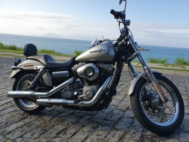 Harley Davidson Dyna Super Glide 1600cc 2008 - Somente Venda