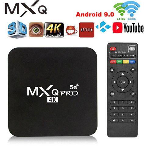 TV Box 4k 5G de 32gb Novo!