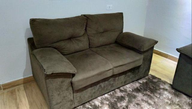 Vendo sofá 2 e 3 lugares seminovo - Foto 3