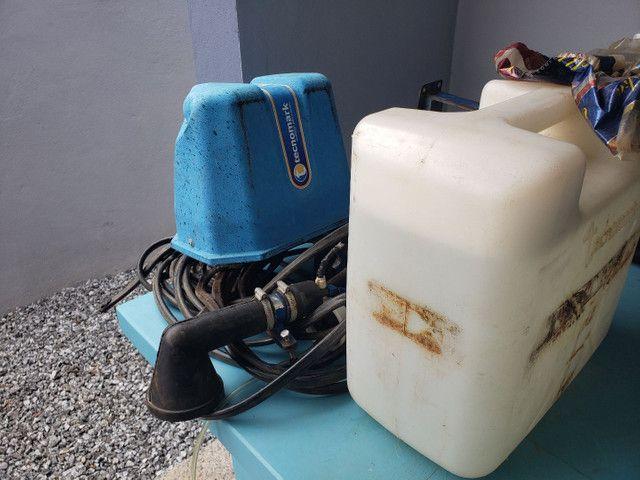 Marcador de espuma para pulverizador