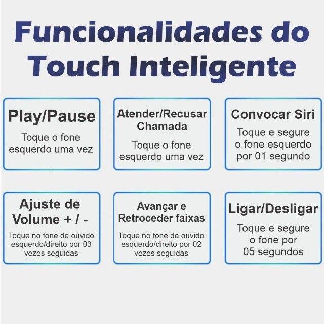 Fones Bluetooth F9 Touch Mini - Foto 4