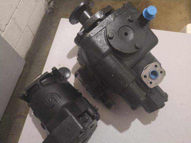 Conjunto bomba e motor caminhão betoneira - Foto 3