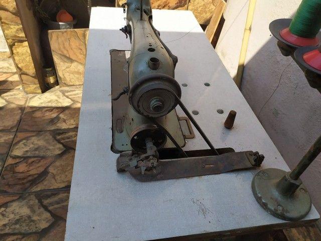 Máquina de costura Durkopp transporte simples - Foto 3