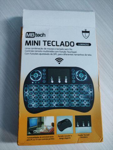 Mini Teclado Wireless Bluetooth Touchpad Sem Fio