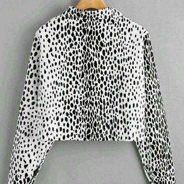 Jaqueta estampada - Foto 3
