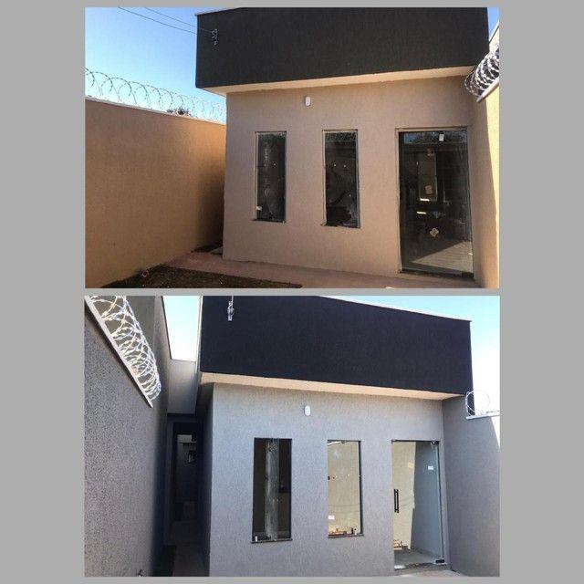 Casa Nova 2 quartos, suite no setor Residencial Elizene Santana - Goiânia - GO