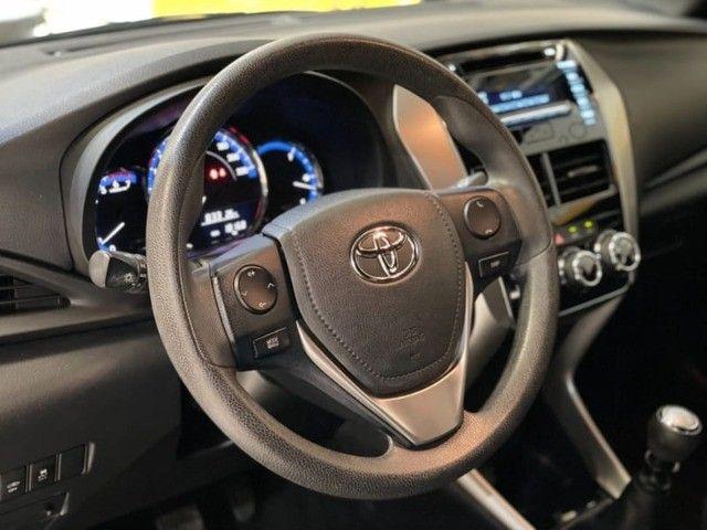Toyota Yaris HB XL 1.3 Flex Mecânico 2019 - Apenas 18.000km rodados -  - Foto 13