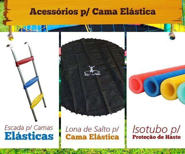 Isotubos coloridos para sua cama elástica - A pronta entrega em nossa loja!! - Foto 6