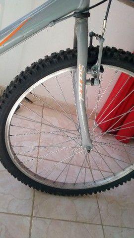 Bike de marcha aro 26 baixei o valor - Foto 2