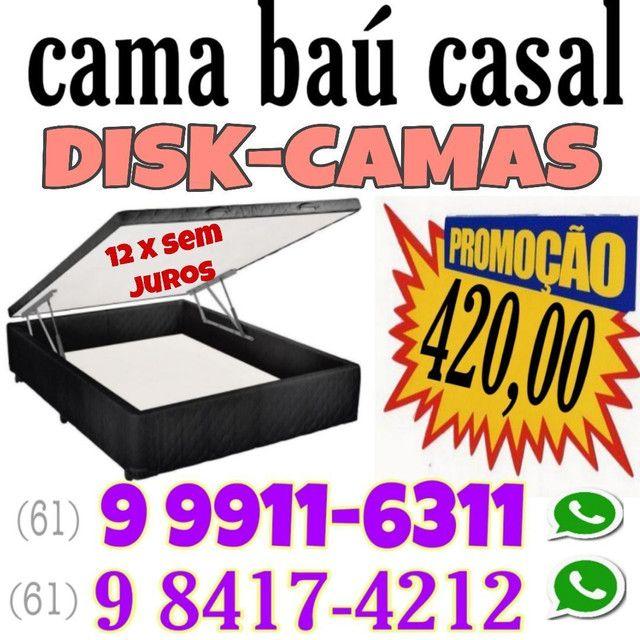 Aqui tem COLCHÕES CASTOR  & cama box baú !!! Promoção - Foto 4