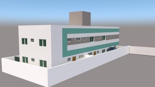 Apartamento na principal do bairro das industrias com possibilidade zero de entrada