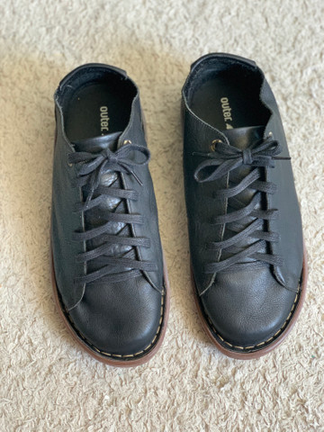 Sapato em couro legítimo Outer