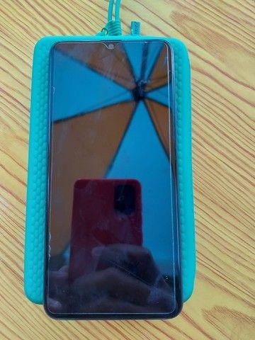 Smatphone Samsung A20s, 32g, novo e sem marcas de uso, com pelicula frente e traz - Foto 2