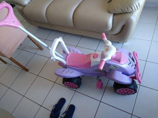 Triciclo Cross Calesita Turbo Pink - Foto 2