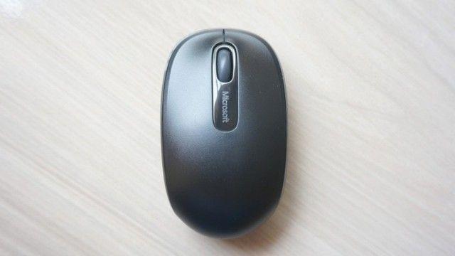 Mouse Óptico Sem Fio 2.4 Ghz 1.000 DPI Preto Microsoft Wireless 1850 Novo Original - Foto 3