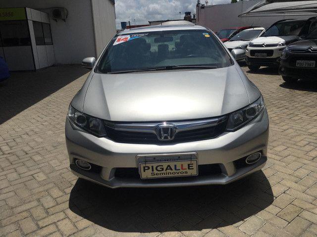 Honda Civic Lxr 2.0 2014 Automático Blindado - Foto 2