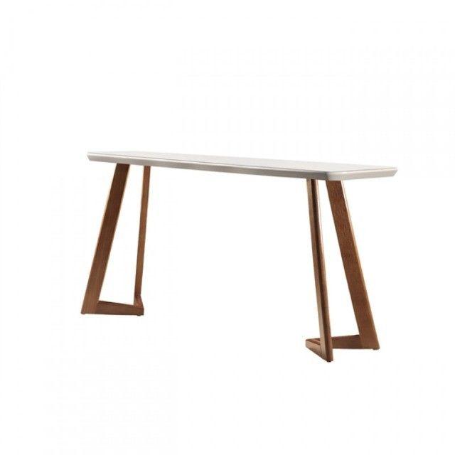 Mesa de Jantar Flávia 1,80cm 100% Madeira Vidro Canto Copo + 6 cadeiras Ciana ? Off White - Foto 2