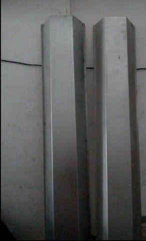 Calhas de Zinco , Alumínio , Rufos , Baldes para sua construção ! - Foto 2