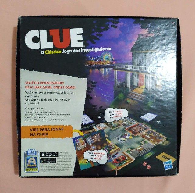 Clue o clássico jogo dos investigadores - Foto 2