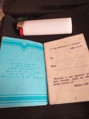 Bíblia Pequena. Com 32 passagens - Foto 5
