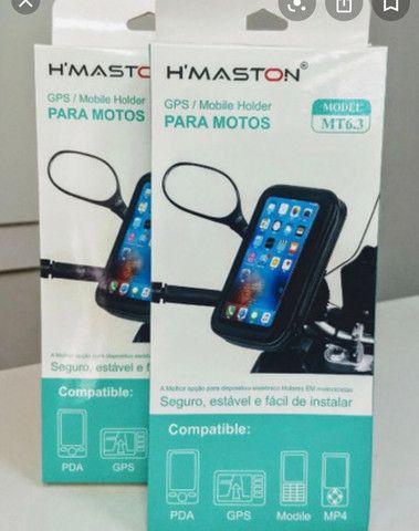 """Suporte de celular/gps para motos/bicicleta 5.5""""-6 - Foto 2"""