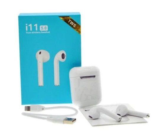 Fone De Ouvido Sem Fio Wireless Bluetooth Touch I11 5.0