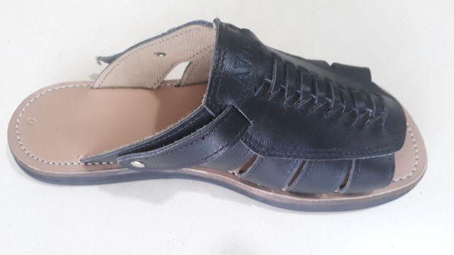 Sandália de couro legítimo!!! - Foto 4