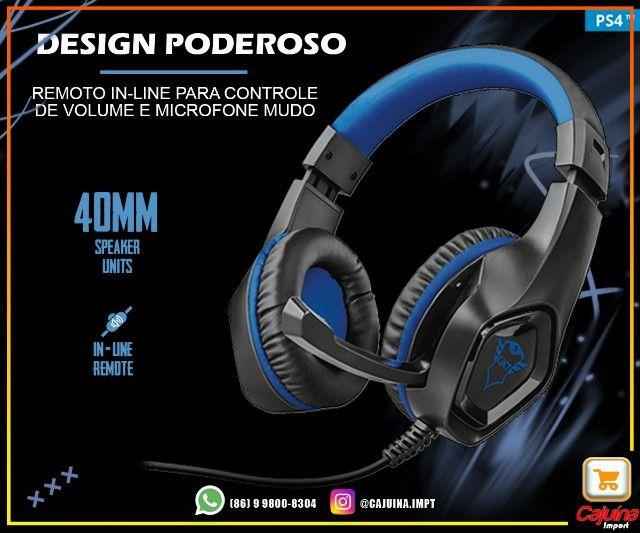 Headset Gamer trust Gxt 404b Rana azul M21sd9sd21 - Foto 2