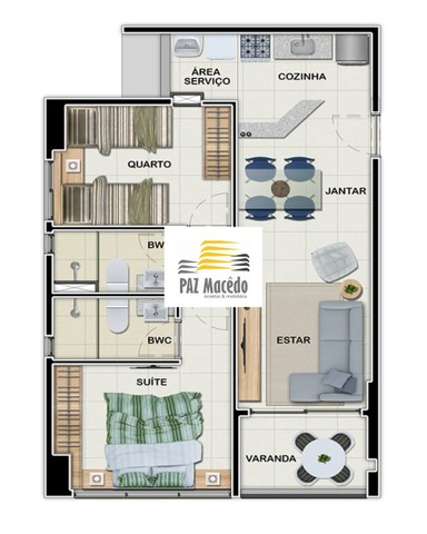 Apartamento No Pina 1 Quarto, 35m², Lazer Completo, 1 Vaga - Foto 9