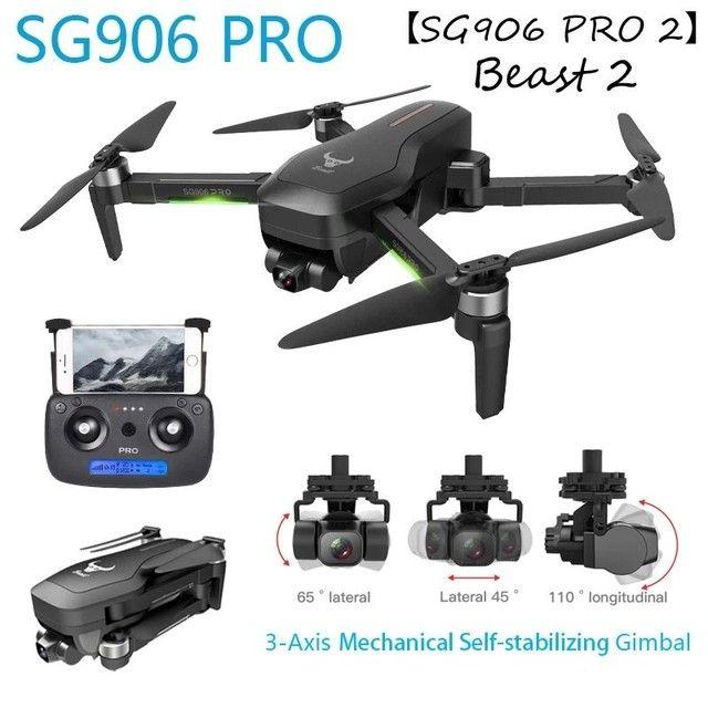 Drone Zlrc SG906 Pro 2 Câmera 4k Funções Siga-me Automatico e volta automático