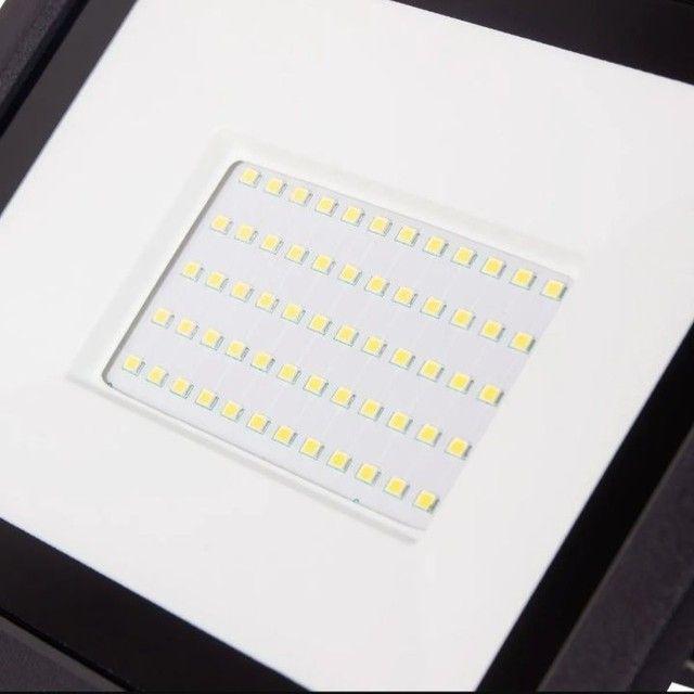 Refletor Led 100 Whats Luz Branca - Foto 3