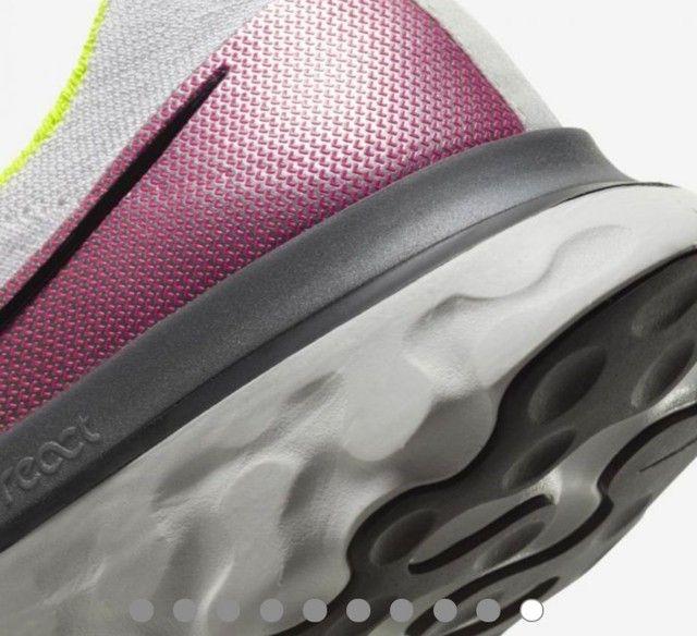 <br>Tênis Nike React Infinity Run Flyknit Masculino<br>(Usado 5X)<br> - Foto 6