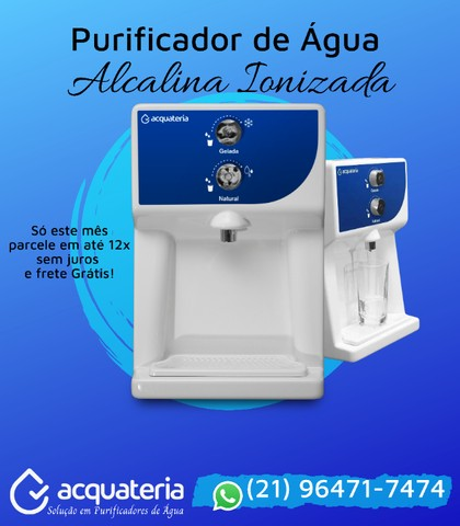 Purificador de Água Alcalina Ionizada - Foto 5