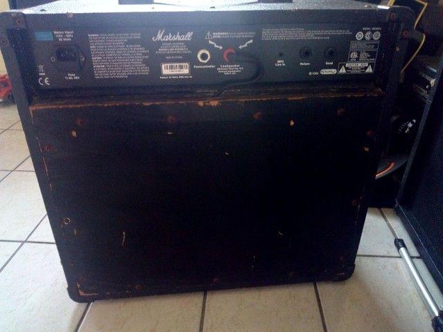 Caixa Amplificada. Marshall / Guitarra - Foto 5