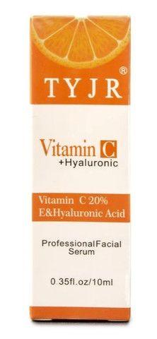 Vitamina C + Ácido Hialurônico Serum Antioxidante Clareador