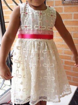 Vestido social para criança ate 3anos