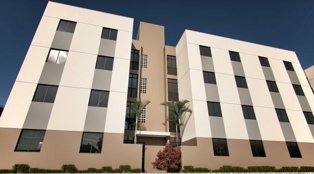 Apartamento no Planalto 2/4 - 43m² - Entrada Parcelada - Assinatura Imediata com o Banco