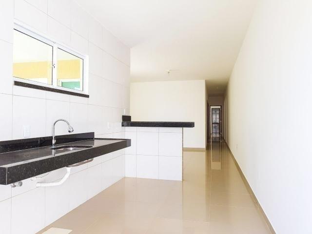Casas planas no eusébio, 3 quartos 2 vagas shopping - Foto 7