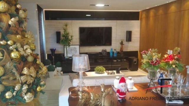 Excelente apartamento, mobiliado, com 3 suítes, na Rua Ana Bilhar - Foto 3