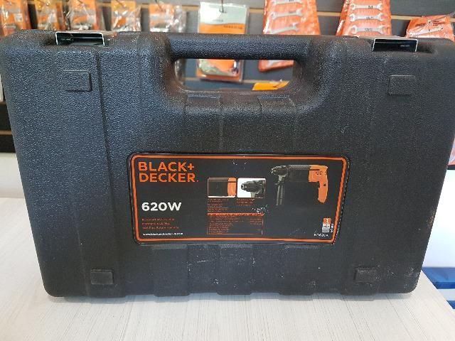 Martelete Perfurador SDS 620W KD620K-BR Black & Decker - 220v - Foto 5