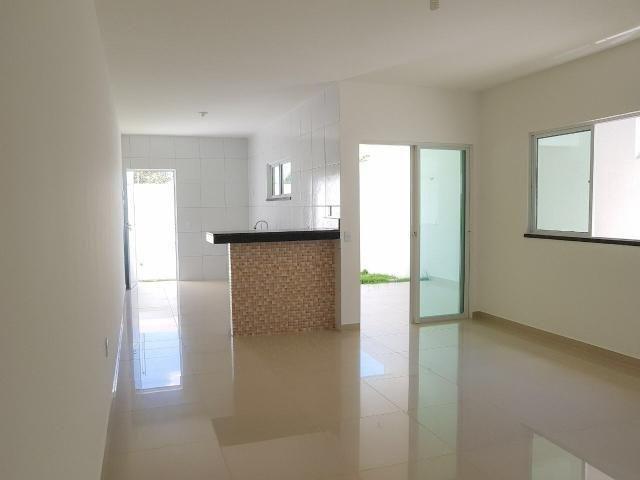 Casas planas no eusébio, 3 quartos 2 vagas shopping - Foto 6