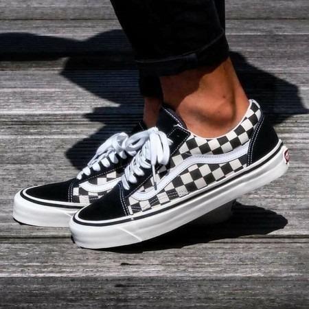 95ef79f6913 Tenis Vans Old Skool Skate - Xadrez Quadriculado - Roupas e calçados ...