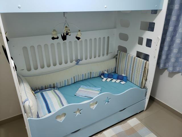 Treliche infantil (Treliche+Colchões+Kit Berço tamanho especial) - Foto 4