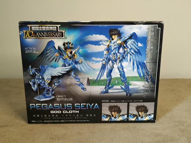 Cloth Myth Seiya Pegasus God 10th Anniversary