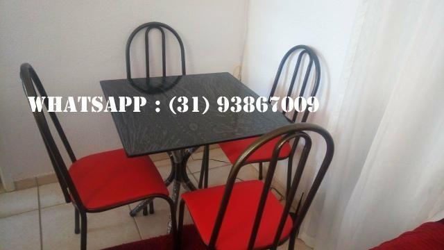 Mesas de 4 Cadeiras Direto Da Fábrica - Foto 4